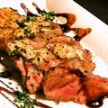 料理メニュー写真イベリコ豚肩ロースグリル トリュフ風味