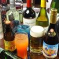 飲み放題の内容も充実☆なんと生ビールもコース飲み放題に含まれております☆