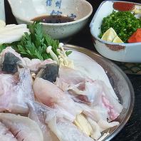 トラふぐ料理(てっちり鍋)