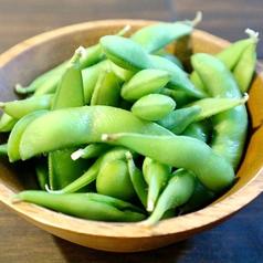 枝豆 (hot or cool)