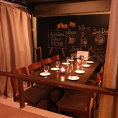 カーテン付半個室は人気の為、ご予約はお早目に!!