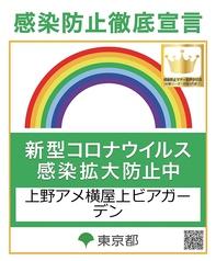 上野アメ横屋上ビアガーデンの雰囲気1