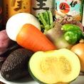 野菜も新鮮なものをふんだんに使用。