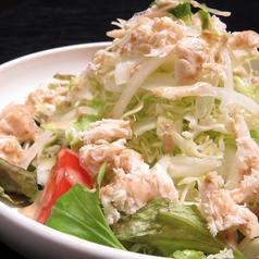 有機豆腐のゴマサラダ