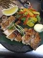 料理メニュー写真大山鶏の黒胡椒焼き