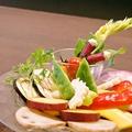料理メニュー写真三浦野菜とバーニャカウダ