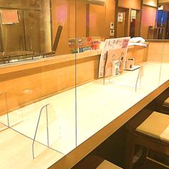 【アクリル板/アルコール/CO2センサー/空気清浄機完備/店内換気】テーブル毎にアクリル板を設置しております。また『喫煙可』の店舗となります。
