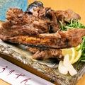 料理メニュー写真島豚ソーキの塩焼き