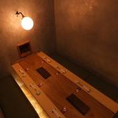 6名様までご利用可能な完全個室あります!接待や記念日、誕生日、慶事などの集まりにも◎