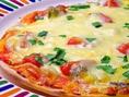 生地から手作りのこだわりのピザもございます♪