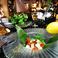 「カプレーゼ」」・水牛のモッツァレラチーズとプチトマト