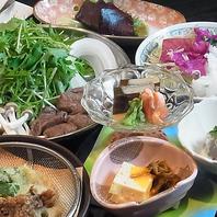 鯨料理コース(ハリハリ鍋含む)