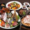 ご宴会にお得な飲み放題付き宴会コースや、リーズナブルな昼限定宴会コースなどをご用意しております!