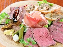 料理メニュー写真肉前菜5種盛り