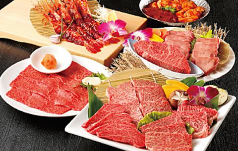 総料理長が自ら厳選した食材一つ一つを一番おいしい食べ方でご提案!