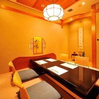 【完全個室】2名様~最大55名様までの完全個室多数。