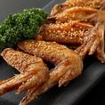 【名古屋飯コース】名古屋飯を満喫できるプラン。手羽先の食べ放題もついてのお得なコース。大小さまざまなくつろぎの個室を御用意してお待ちしております