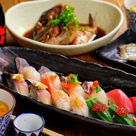 季節毎に変わる旬食材を使った料理。