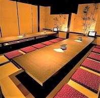 梅田駅徒歩2分、お初天神商店街すぐ。全席完全個室です