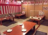 海鮮 ぶっちぎり食堂 札駅西店の雰囲気2