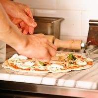 300℃の釜焼きピザ!全て手作りです!