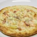 料理メニュー写真ほくほくポテトの明太子マヨピザ