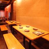 【6~10名様用テーブル】10名様前後でのご宴会に。