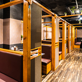 様々なシチュエーションに対応可能な雰囲気自慢の個室空間。赤坂での女子会や誕生日会、新年会、歓送迎会など各種宴会に最適な個室空間となっております。事前予約で特製デザートプレートをご用意致します。