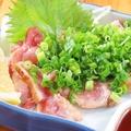 料理メニュー写真地鶏の炙り