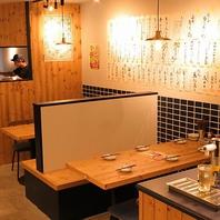 総席数40席!新潟駅で宴会などに最適なフラットな空間
