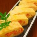 料理メニュー写真博多明太出汁巻き 京都寿恵卵