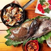 ぜひぜひ食べて!◆朝採れ鮮魚メニュー◆
