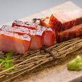 料理メニュー写真オレイン豚の酒粕ベーコン