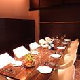 【4~8名様用/完全個室】小・中宴会にもご利用いただける個室です。