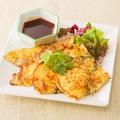 料理メニュー写真牡蠣のタイオムレツ(カイジャオホイナーンロム)