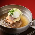 料理メニュー写真韓式みぞれスープの冷麺