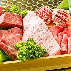 神戸牛焼肉&生タン料理 舌賛 ZESSANのコース写真