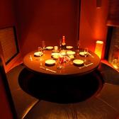 1番人気の円卓個室!ご予約はお早めに!