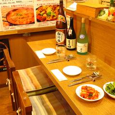 デートにも最適な空間です!韓の香はデートにも人気です♪気軽に本場の味を楽しめます!素敵なお時間お過ごしくださいね<#韓国#本場#女子会#二次会#二次会#ビビンバ#チヂミ#チーズダッカルビ#チゲ#マッコリ#チャミスル>