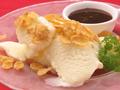 料理メニュー写真バニラアイスの生キャラメルアフォガード