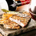 料理メニュー写真イベリコ豚のグリル~薬味三種でバリエーション豊かに~