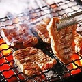 料理メニュー写真牛タンと九条葱の炙り焼き