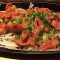 料理メニュー写真まぼろしの「鶏ハラミ」じゅうじゅう鉄板焼き