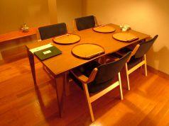 4~6名様のテーブル個室