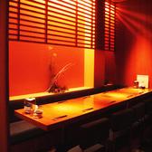落ち着いた雰囲気のテーブル個室。10名~
