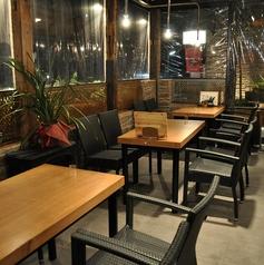 組数限定テラス席★開放感のあるお席で外飲み気分を楽しめる!ご予約はお早めに♪