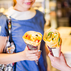 eight turn crepe 銀座の写真