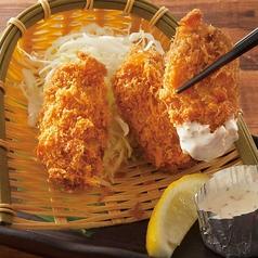 料理メニュー写真岡山県産 牡蠣フライ