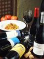 イタリアンバールだから豊富な料理とお酒