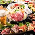 赤坂での各種宴会におすすめの宴会コースは、2時間飲み放題付2980円(税抜)~ご用意しております。毎朝仕入れる鮮魚や契約農家から直送の旬野菜を使った創作料理をお愉しみ頂けます。飲み会や宴会、接待、女子会、歓送迎会、新年会などにぜひご利用ください。